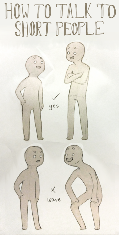 How to talk to short people - 01