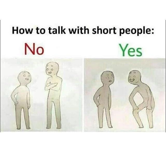 How to talk to short people - 02