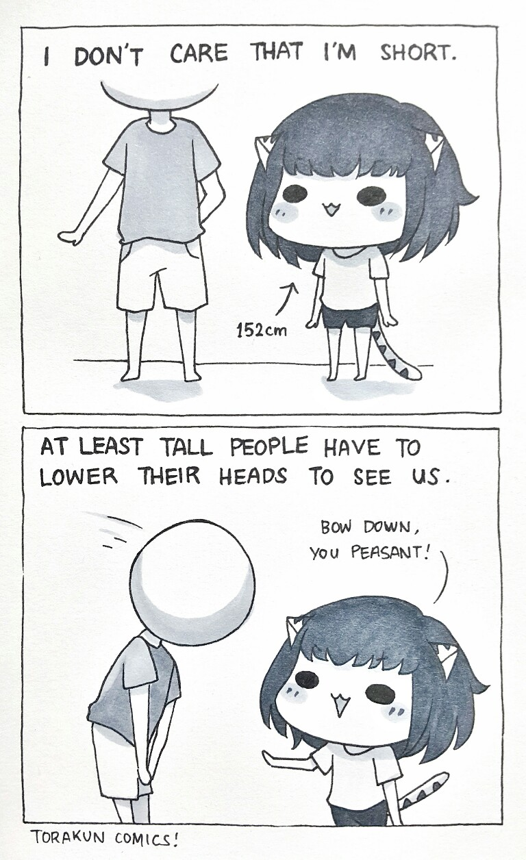 Short People by Torakun Comics