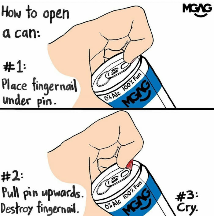 How to Open a Can