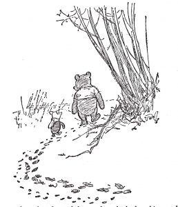 Walking Away - Winnie the Pooh and Piglet